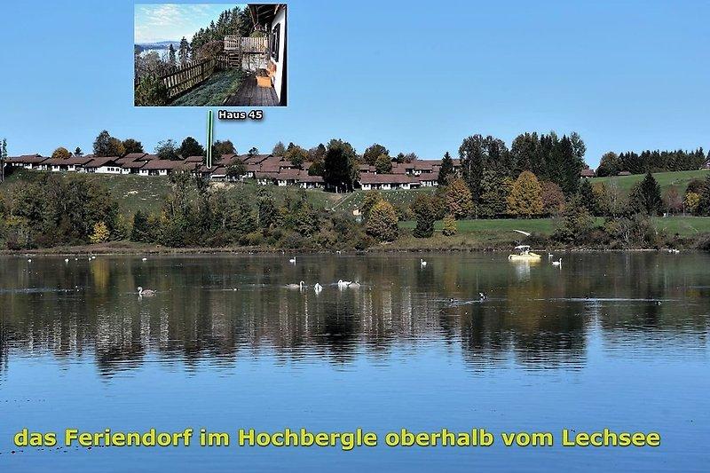 Haus 45 oberhalb vom Lechsee