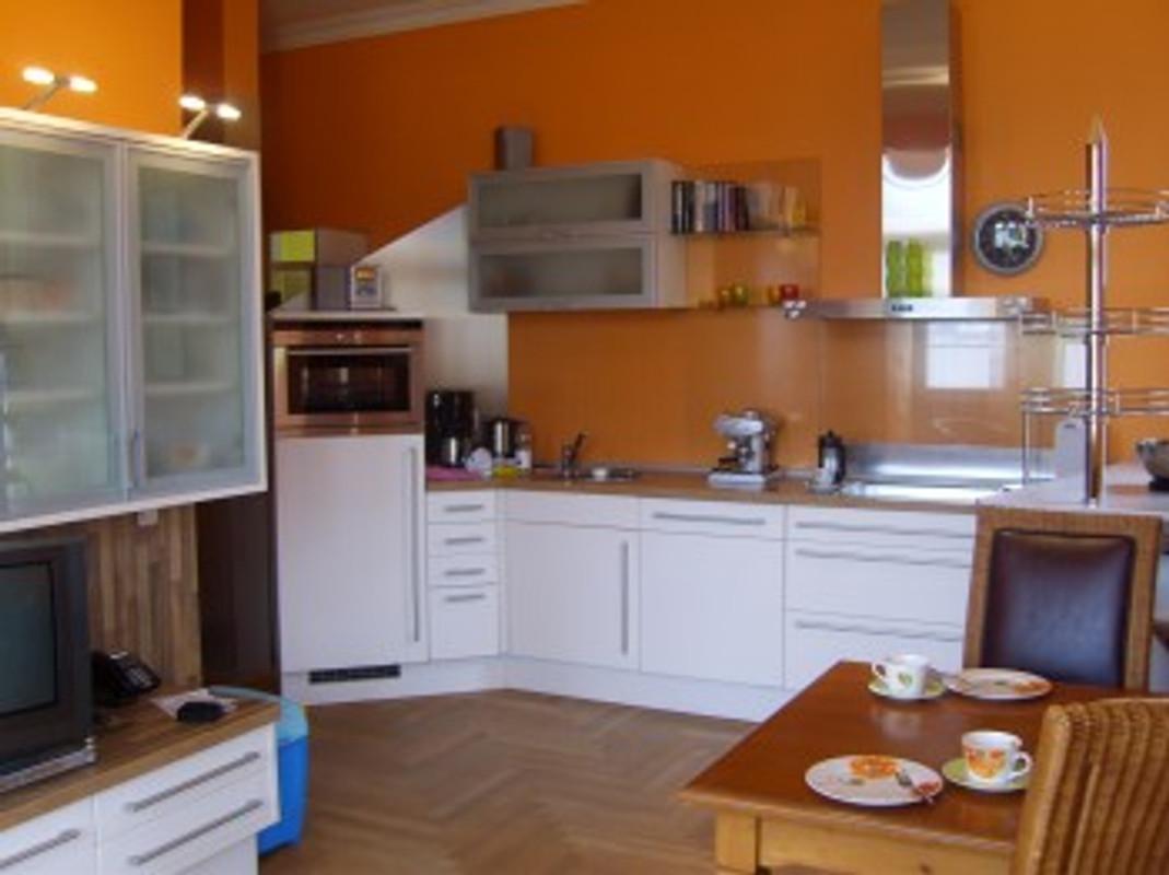 Küchenzeile Im Wohnraum ~ villa perkunos wohnung 12 ferienwohnung in heringsdorf
