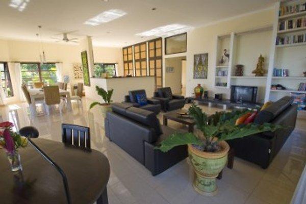 Große Wohnzimmer von Villa Lovina-beach