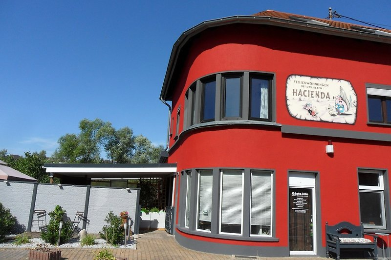 Das Ferienhaus Hacienda