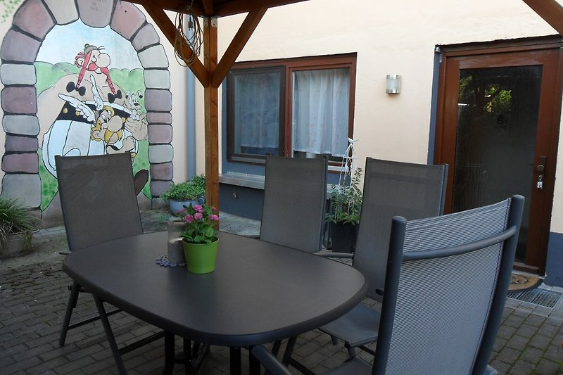 Terrasse zur alleinigen Nutzung