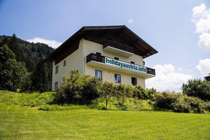 Landhaus Tauernblick in the summer