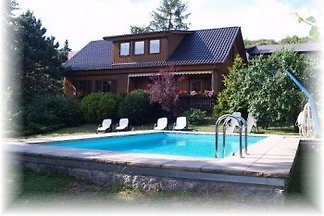 Holiday home with pool in the Harz