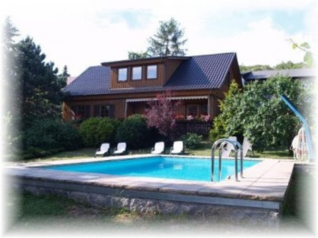 ferienhaus mit pool im harz in wernigerode herr d bruns. Black Bedroom Furniture Sets. Home Design Ideas