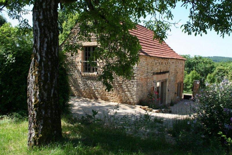 Ansicht ins Dorf