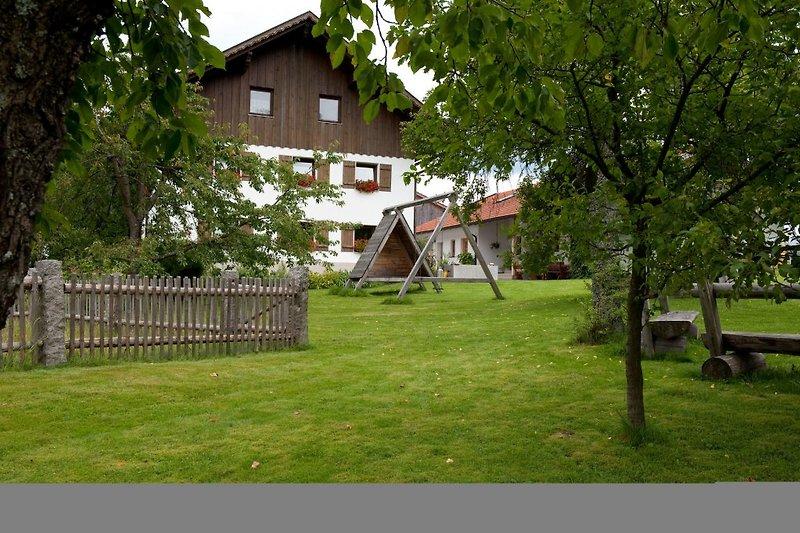 Garten im Ferienhof Kraus