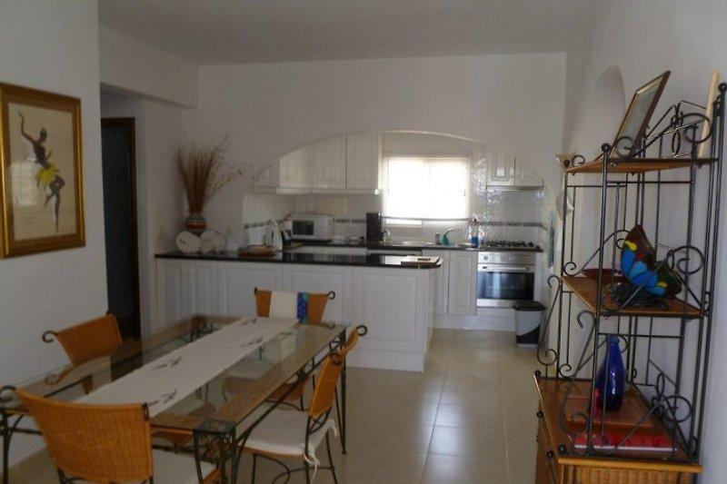 Esszimmer + Küche