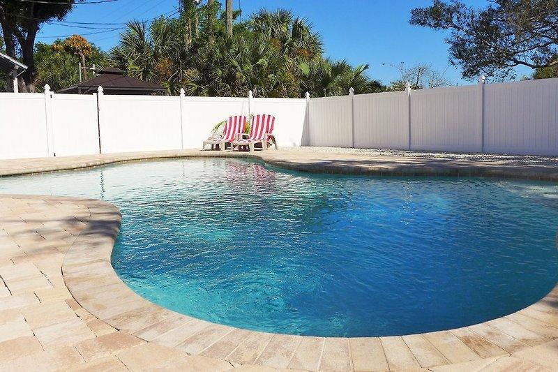 Pool des Barra Villa Resort (im November 2015 gebaut)
