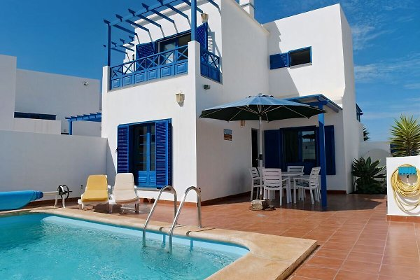Ferienhaus mit Meerblick 200m vom Strand