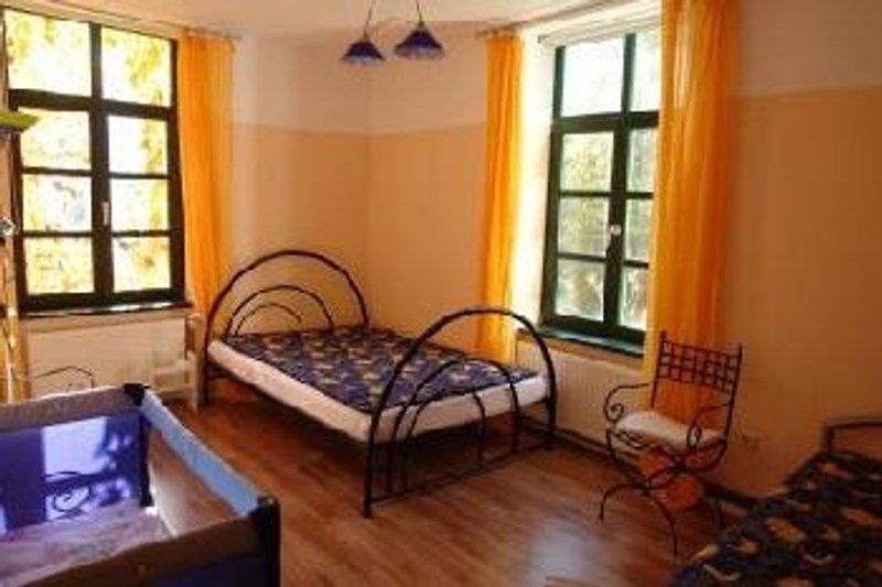 Schlafzimmer in der jardinette