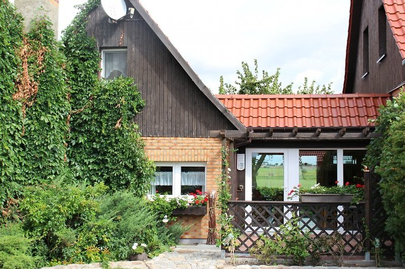 Ferienhaus Kornblume - Eingang