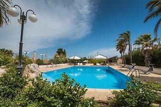 Cammaratini, villa avec piscine