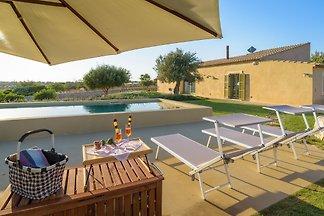 Psyké, Villa mit Pool und Aussicht