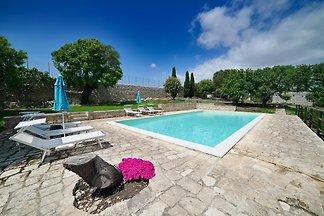 Scifazzo, typische villa mit pool