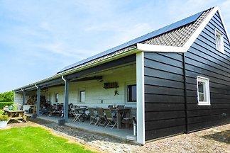 Beautiful 10-person group accommodation in Serooskerke near Lake Veere and Oostkapelle