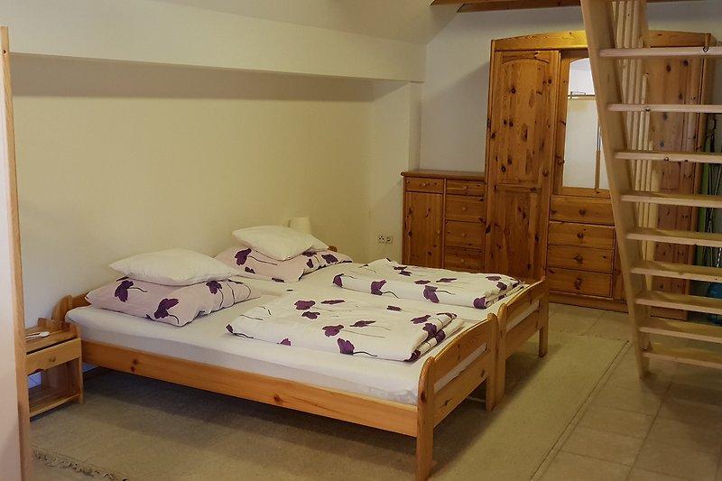 Schlafzimmerteil unten