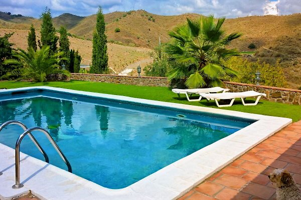 Montes y Mar with pool and garden in Benajarafe - immagine 1