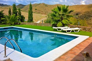 Montes y Mar with pool and garden