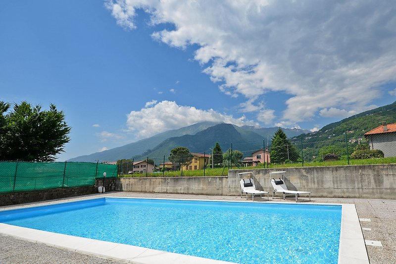 Pool der Casa Poncia