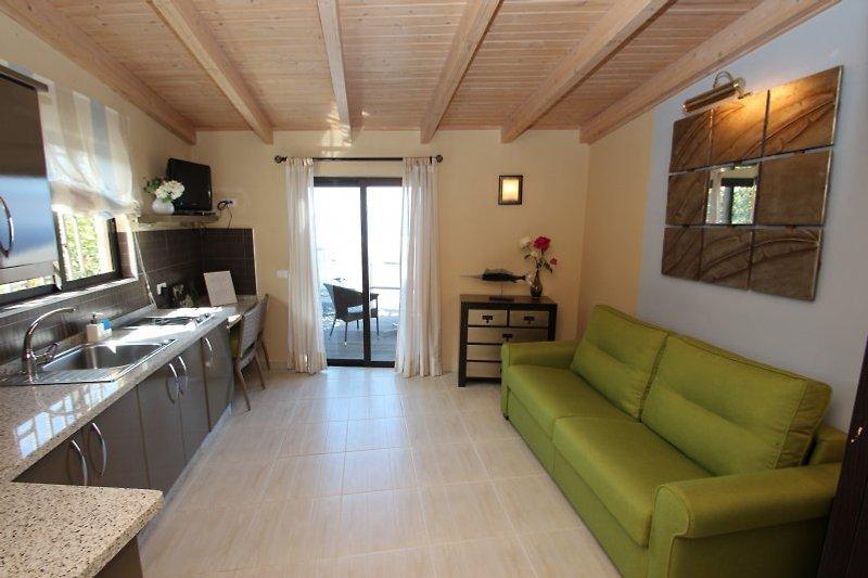Wohnzimmer- Küche