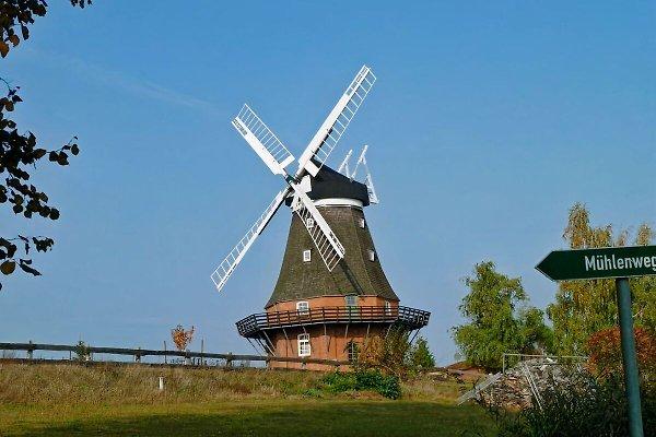 Goldenbower Mühle en Goldenbow -  1