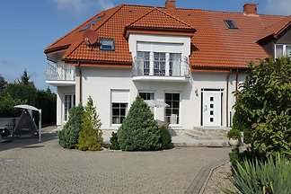 Ferienhaus -Ostseeküste Polen. Das Haus liegt nur ca. 6 km. von Kolobrzeg(Kolberg) entfert.