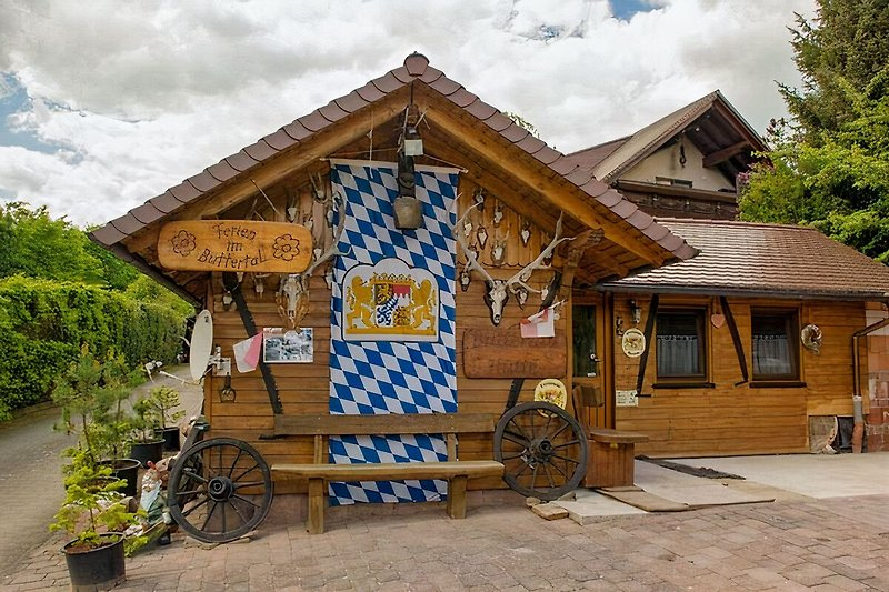Spessarträuberhütte-Buttertal à Aura - Image 2