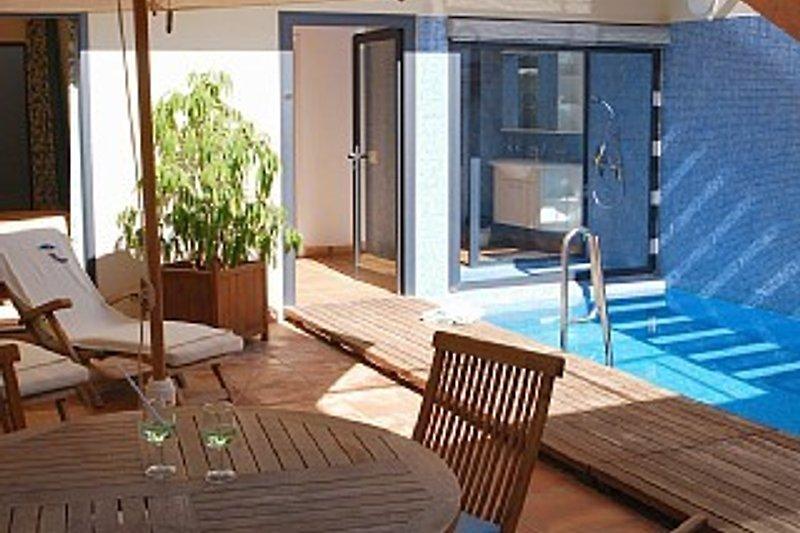 Innenhof mit privatem Pool