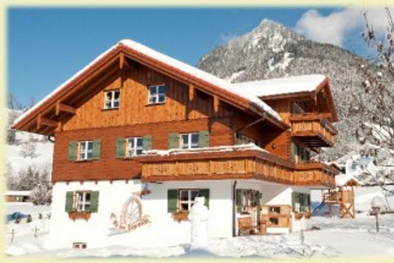 Unser Haus im Winter