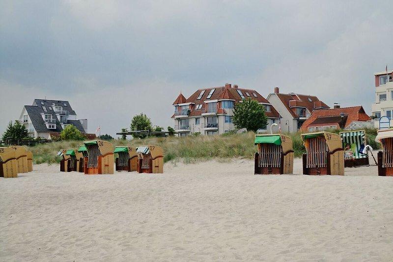 Strandschlößchen gegenüber vom Strand