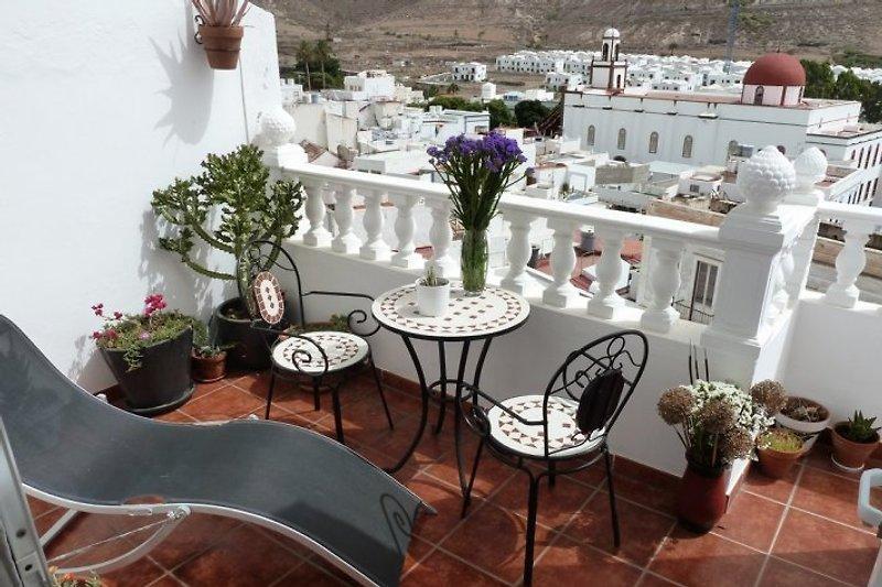 der sonnige Balkon 2