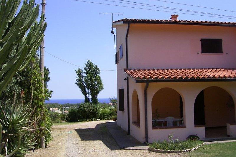 Casa Simona mit Meerblick