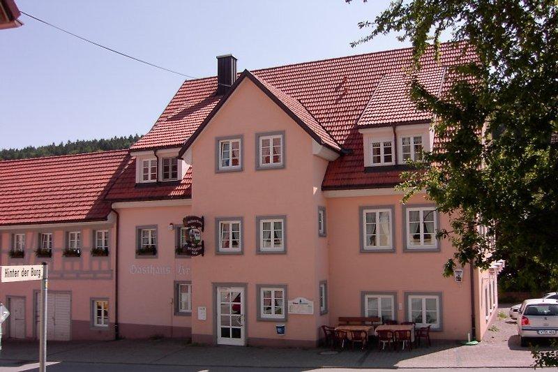 Außenansicht: Gasthaus Kranz Lausheim
