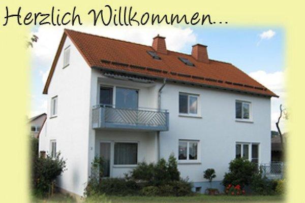 Ferienwohnung Lüdertal Fewo 2 à Großenlüder - Image 1