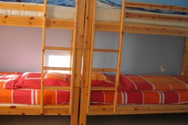 Kinderzimmer mit 2 Etagenbetten