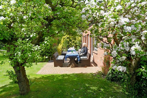 Der Künstlergarten Goße Fewo 4 en Garding -  1