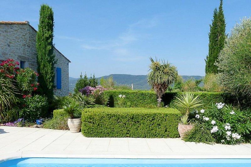 Blick vom Ferienhaus in le Beausset in der Provence