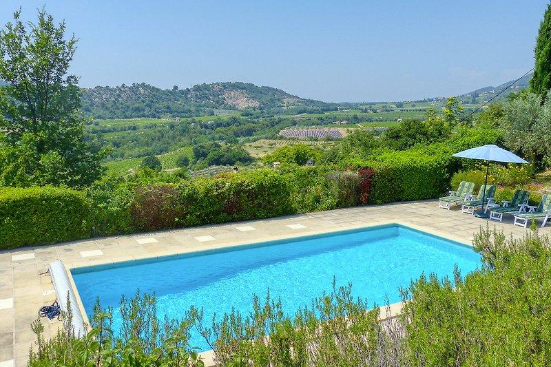 Ferienhaus mit Pool in der Provence bei Nyons