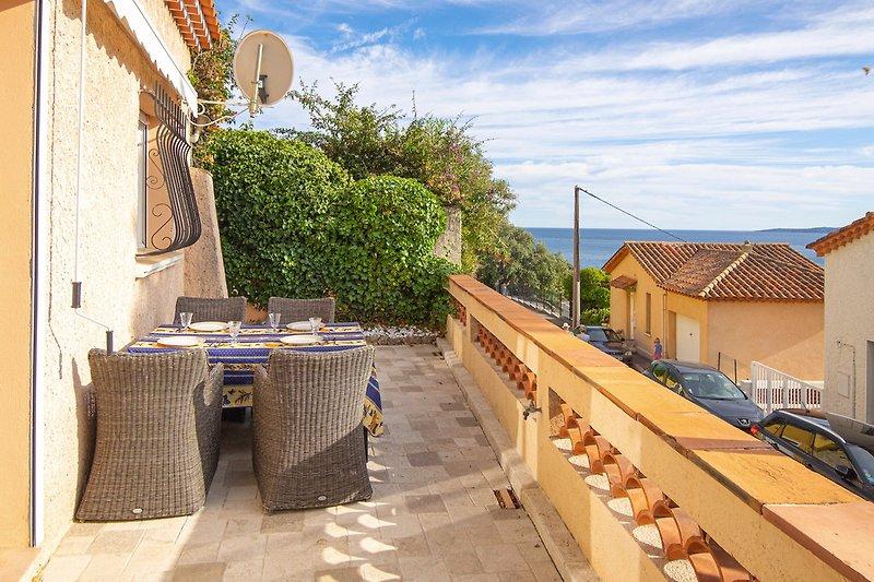 Ferienwohnung mit Meerblick in Les Issambres
