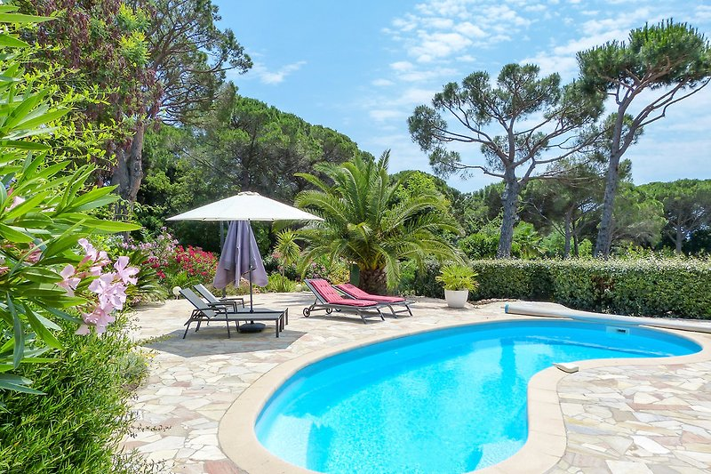 Villa mit Pool in Les Issambres
