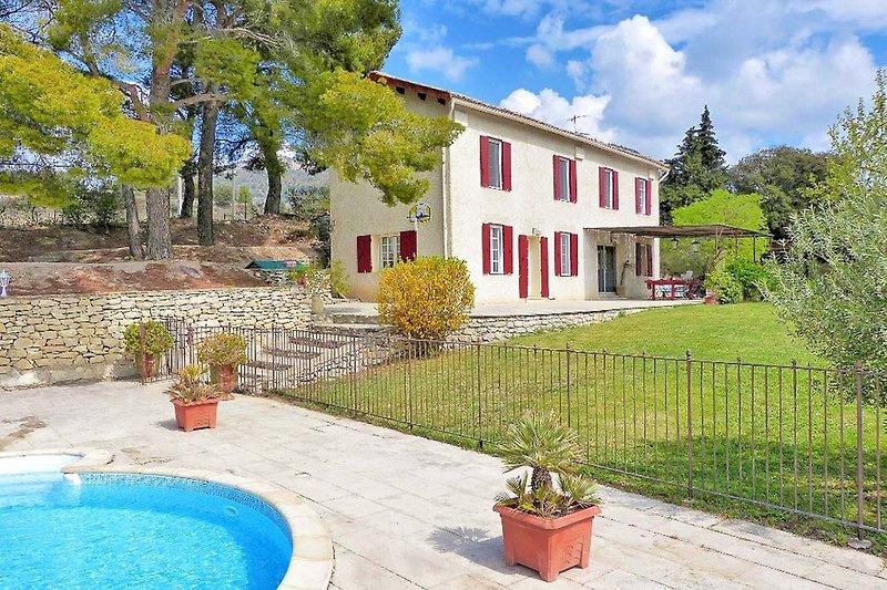 Ferienhaus mit Pool in Beaumes-de-Venise