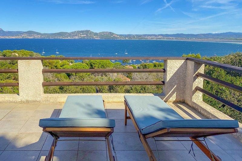 Ferienhaus mit Meerblick auf Giens