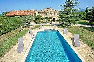 Ferienhaus mit Pool  bei Roussillon
