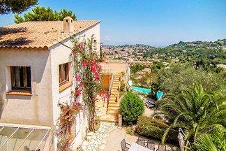 Bei Cannes Villa mit privatem Pool