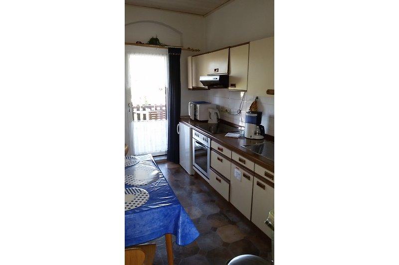 Küche in Ferienwohnung bis 4 Personen