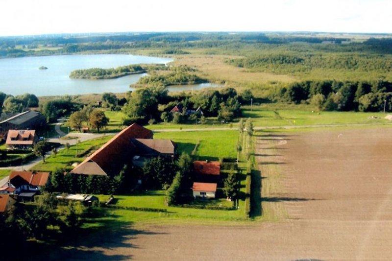 Das Ferienhaus direkt an der Feldkante