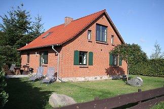 Ferienhaus am See nah der Müritz