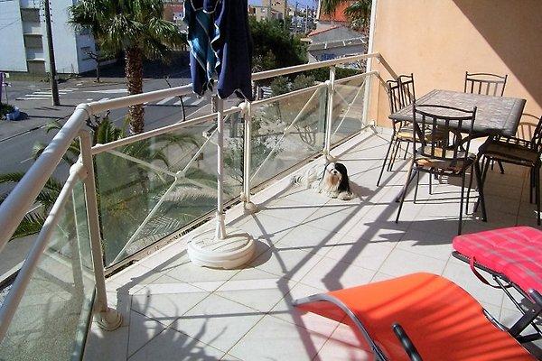 Balkon Ferienwohnung La Plage