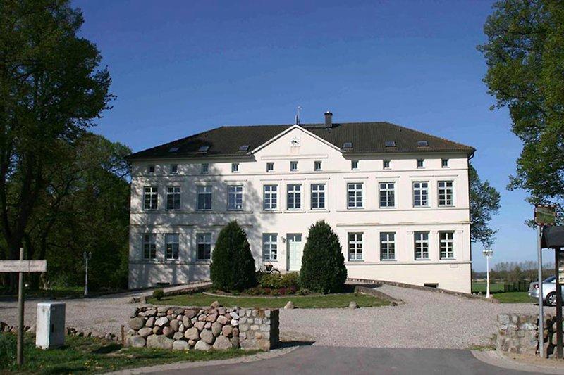 Ansicht Herrenhaus Blengow