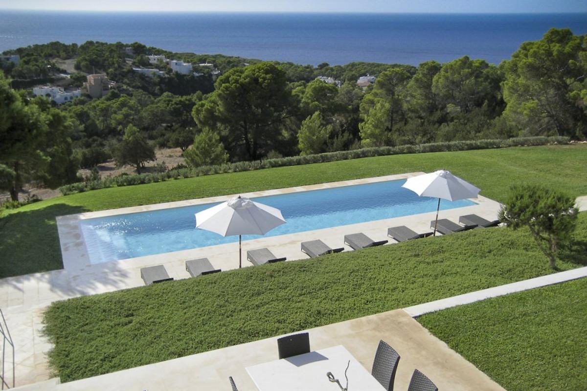 Ibiza villa el cielo casa vacanze in cala den real affittare for Ibiza casa vacanze